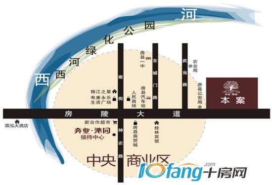 十堰朝阳路地图