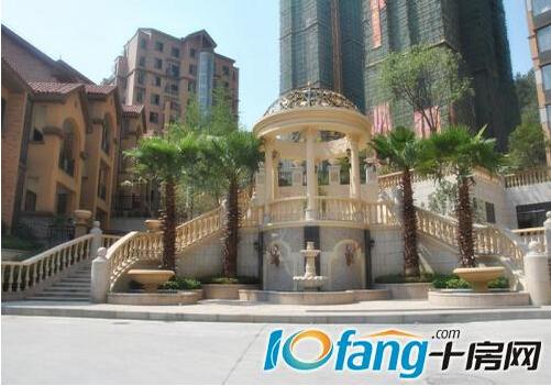 阶式立体园林欧式精工庭院叠水喷泉的设计