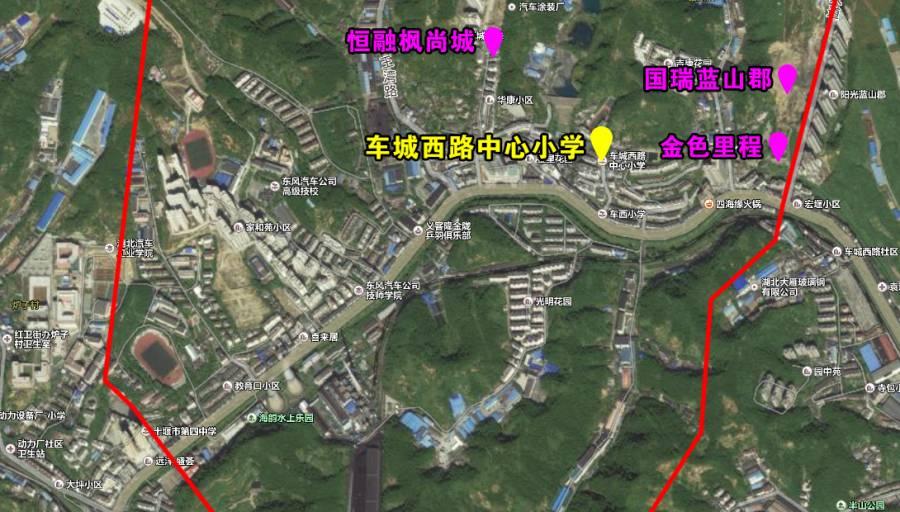 红果辖区平面图