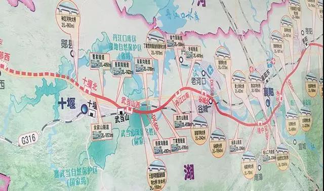 十堰机场2号线路线图